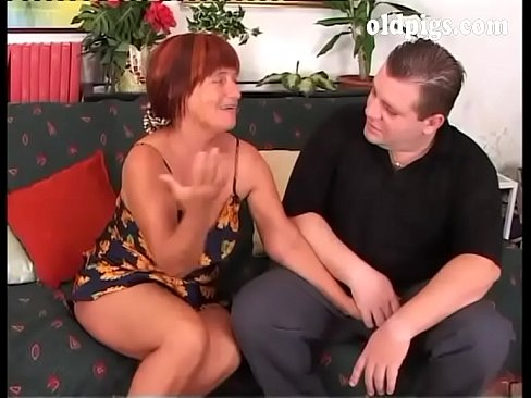 Mature Couple Young Girl
