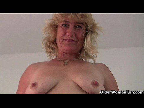 Blonde Shaved Pussy Solo