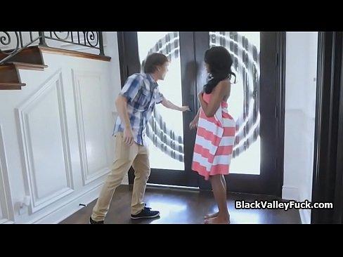 Big White Dick Fucks Ebony