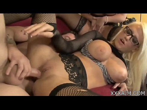 Mom bent over and ass fucked
