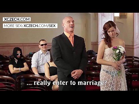 Wedding orgy porn