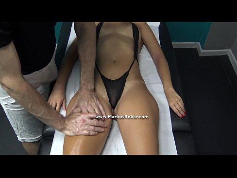 Hidden massage tube