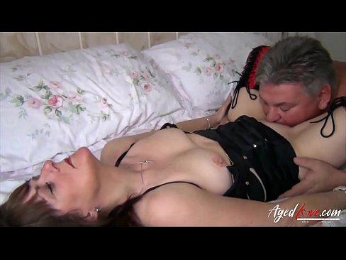 Tits hang out