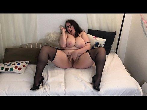 Hairy Pussy Bbw Milf Plays With Pussy In Stockings Xnxx Com