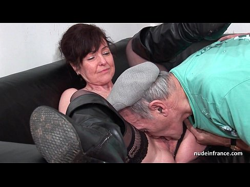 Old fat man hot girl cumshot