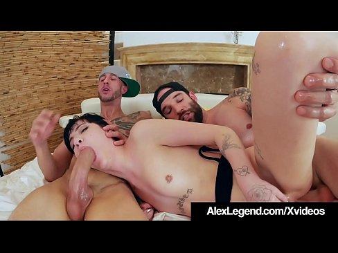Angela White Anal Threesome Hd