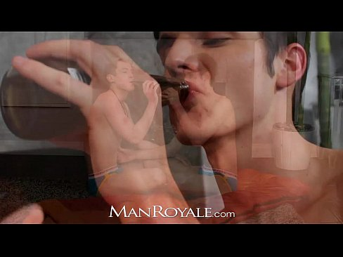 Hd manroyale boyfriends have shower sex