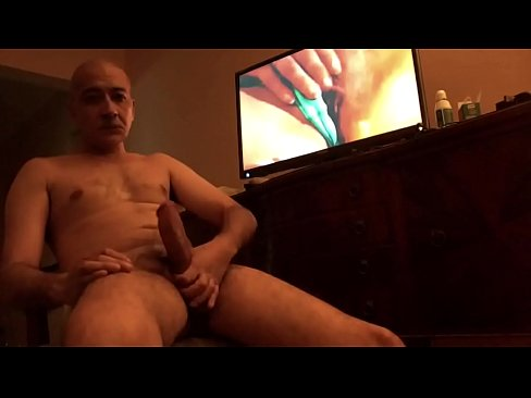 Jerking While Watching Porn