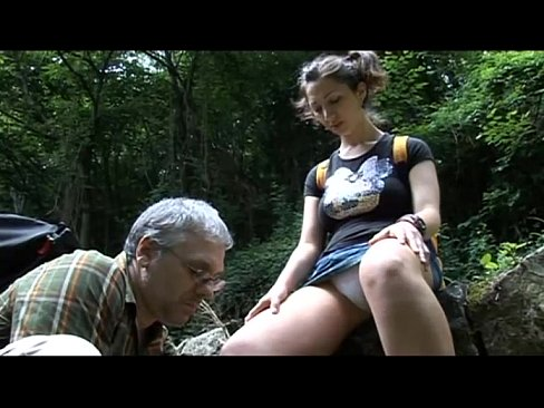 Teens sexy fuck stepdads the forest with hot in good