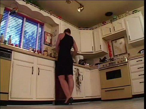 Milf son her friend fucks kitchen british that