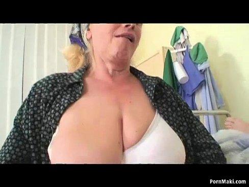 Grandpa watches grandma get banged fucked