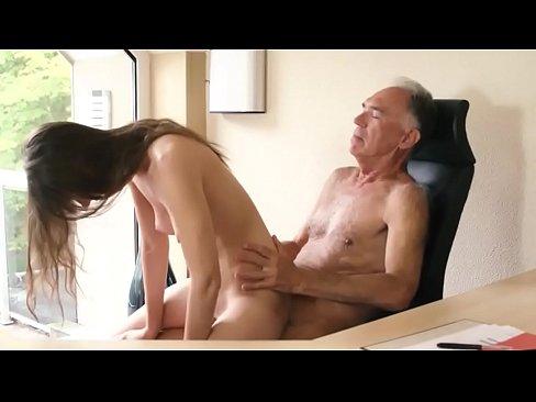 Old White Guy Asian Girl