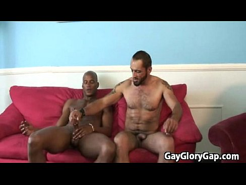 black guy getting handjob