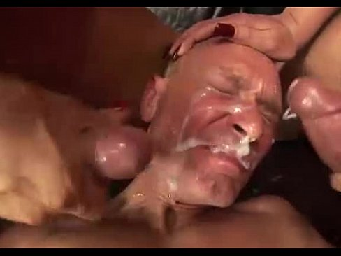 Shemale Cums On Guys Face