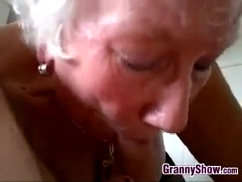 Ebony Mature Blowjob Swallow