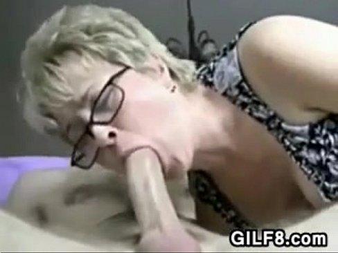Asian POV cum announcement woman