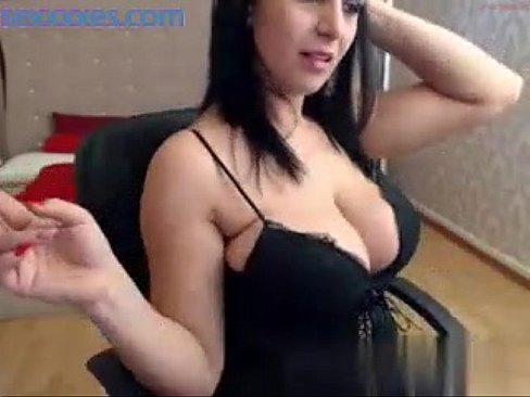 Milf with big tits on cam