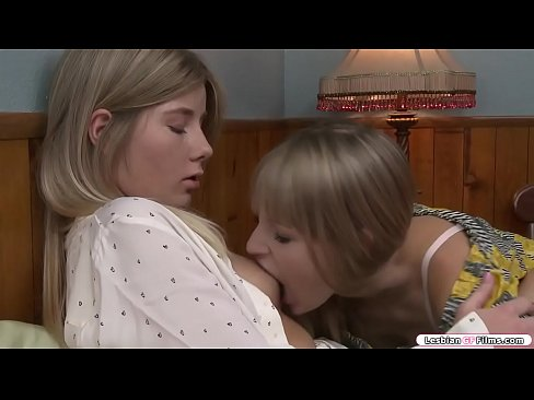Petite Blonde Comforts Her Broken Hearted Teen Friend She Starts