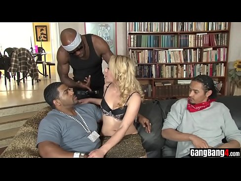 Blonde Teen Bbc Threesome