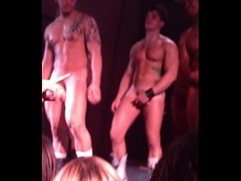 Nude go go dancer