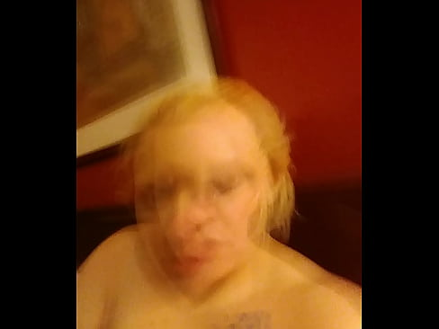 tits with girl Fat playing