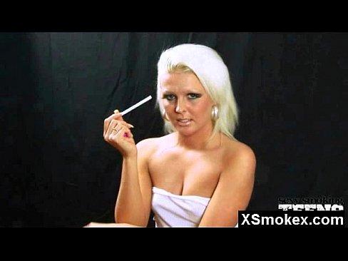 Smoking Cigarette Sucking Cock
