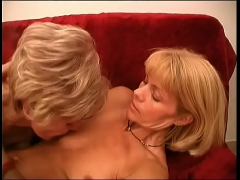 Two Hot Blonde Lesbians Lick And Fuck Each Other S Mature Pussies