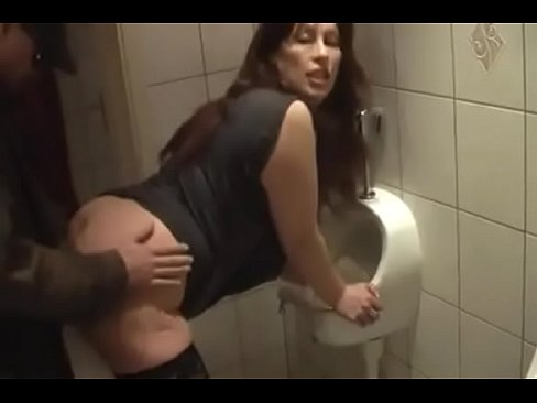 German Milf Get Good Fuck From Young Guy On The Toilet Xnxx Com