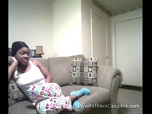 Young Ebony Girl Creampie