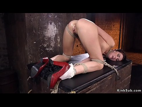 Congratulate, bondage clamp hogtied nipple video all