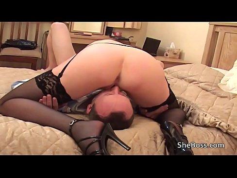 Big Cock Cums Inside Pussy