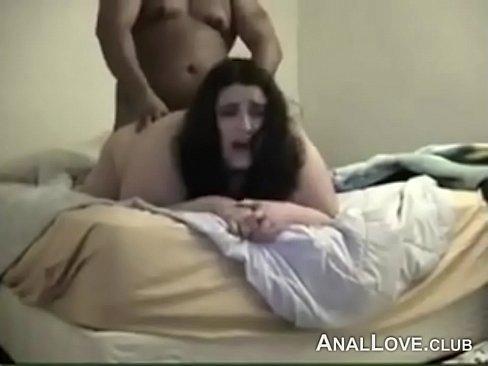 Bbw anal sex in lingerae