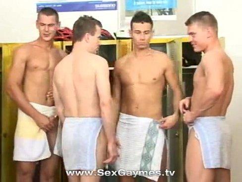 Gay lockeroom porno