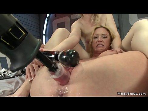 Blonde Squirt Fisting Lesbian