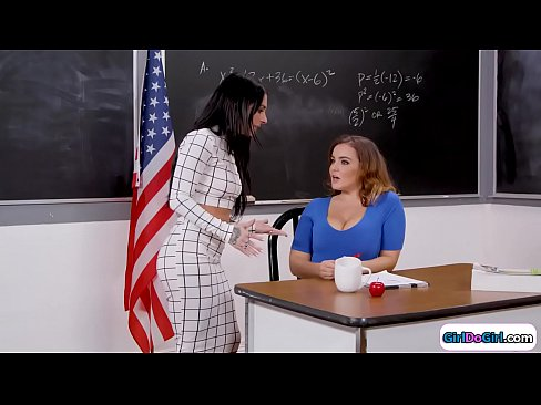 Big Tit Brunette Teacher