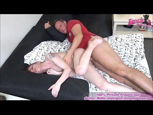 Deutsche reife Frau macht ersten porno mit jungem Kerl und freut sich