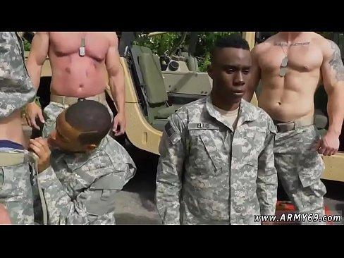 gay miltary porno