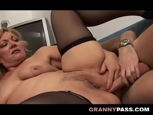 Mature Mom Seduces Young Guy