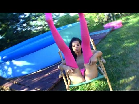 Fingering pussy her by sweet wet the pool kiki teen reply))) You are