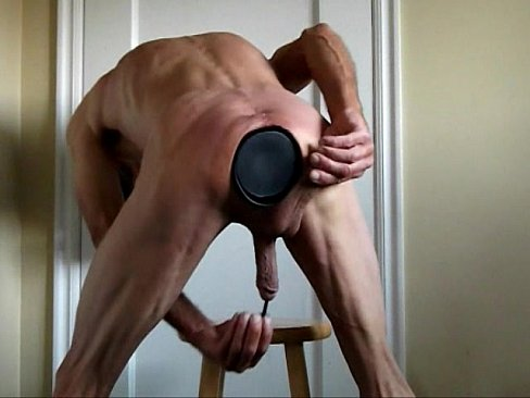 Penis And Butt Plugs Fucking My Penis And Ass With Big Toys