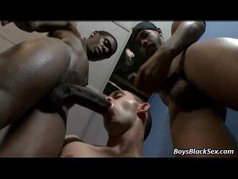 Black huge cock in a white mans gaping hole Huge Black Cock Barebacks Tight White Hole 22 Xnxx Com