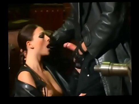 Eating gloves leather coat blowjob slow and cum in and remarkable