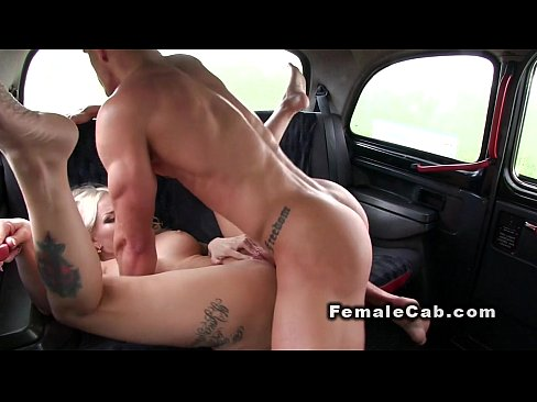 Fuck female cab driver guy in handsome public fake that
