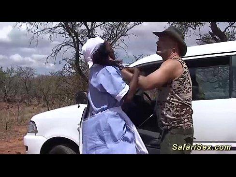 Safari wild porno big african orgy sex tits urbanization
