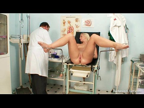 Accept. The nurse sexy blonde young examine gynecologist and are