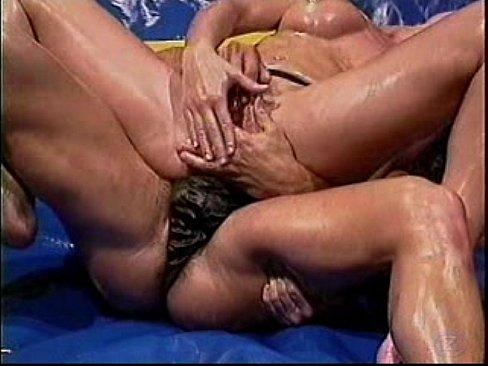 Big Tit Blonde Lesbian Massage