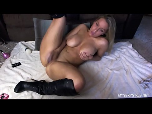Sexy Blonde Teen Cumming Hard With Her New Toy Xnxx Com