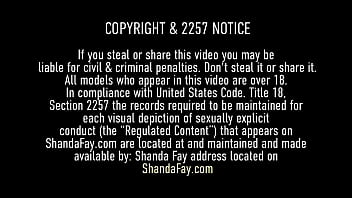 Pussy fucked Shanda Fay spreads her mature cunt for her hubby to jizz on, leaving her with a nasty creampie that gets her even more wet for masturbation! Full Video & Shanda Fay Live @ ShandaFay.com!