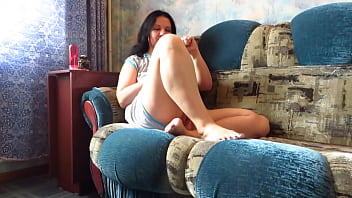 Anal and vaginal masturbation with a bottle of Fanta Mature BBW stretches her holes and fucks her juicy PAWG and vagina and shows her gaping ass