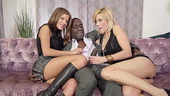 Horny Cougar Nika enjoys her first taste of big black cock before climbing on top to ride him out, grinding her pussy back and forth and getting a facial! Full Flick & 1000's More at PrivateBlack.com!